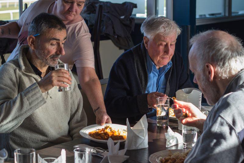 Cyrenians community cook club - Bright Purple fundraising