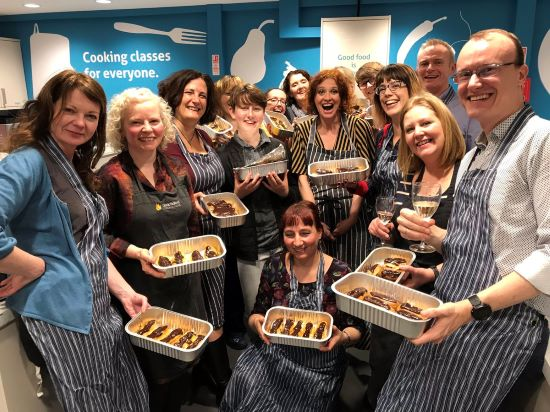 Cyrenians Pastry Making Party
