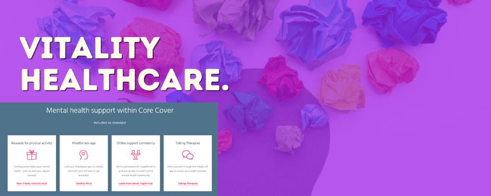 Vitality Healthcare - Bright Purple
